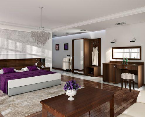 Pokój hotelowy meble Orkus
