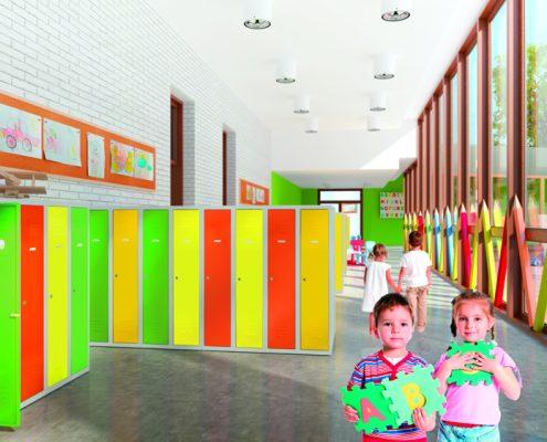 kolorowe meble do przedszkola