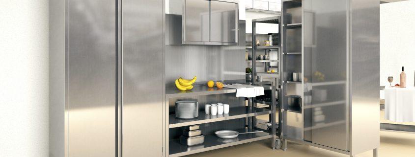 metalowe meble do kuchni